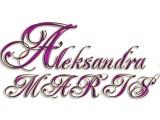 Логотип Aleksandra Maris, интернет-магазин свадебных аксессуаров