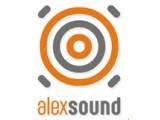 Логотип AlexSound, агентство звуковой рекламы