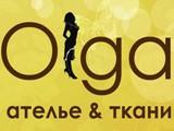 Логотип Olga, центр бытового обслуживания