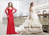 Логотип Sole Bianco, салон свадебной и вечерней моды