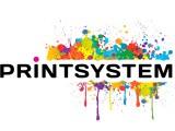 Логотип Картриджи, тонеры для принтера в Челябинске. Printsystem